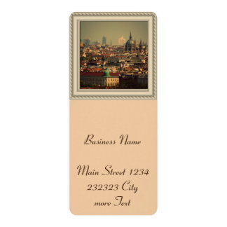 Vienna 06 4x9.25 paper invitation card