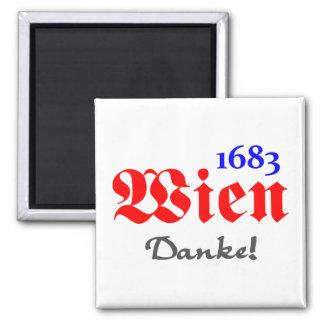 Vienna 1683 - Thanks Refrigerator Magnet