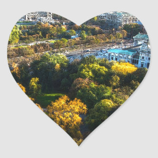 Vienna (A) Heart Sticker