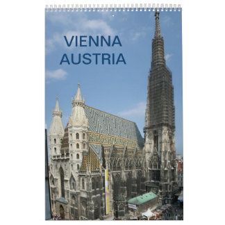 Vienna Austria 2016 Calendar