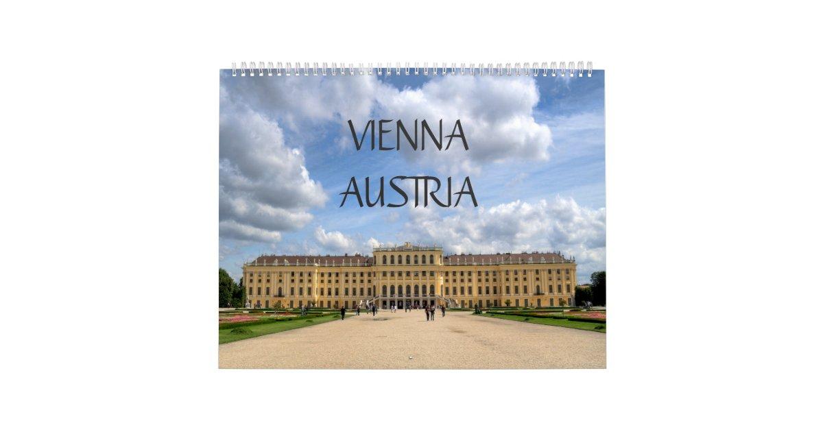 Vienna Austria 2020 Kalender Calendar Zazzle Com
