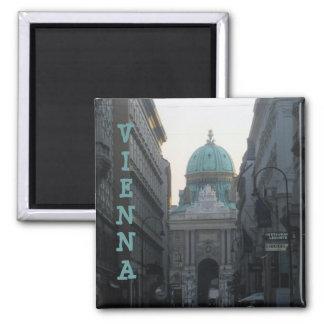 Vienna, Austria 2 Inch Square Magnet
