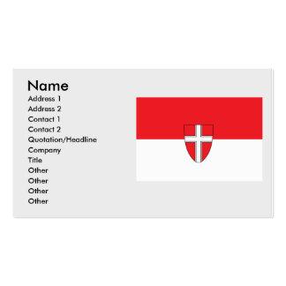 vienna, Austria Business Card