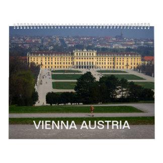 Vienna Austria Calendar 2016