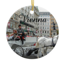 Vienna Austria Ceramic Ornament
