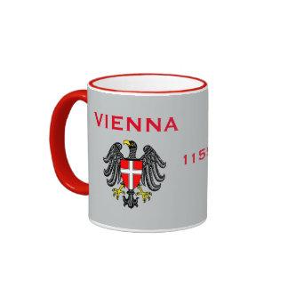 Vienna Austria Crest & Flag Mug