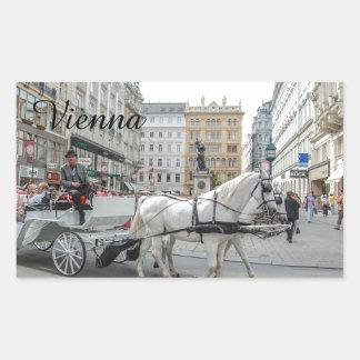Vienna Austria Rectangular Sticker