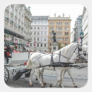 Vienna Austria Square Sticker