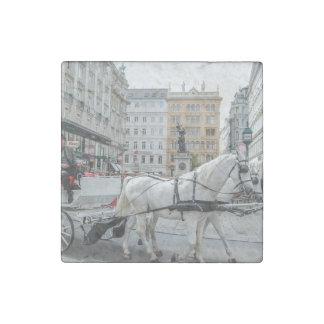 Vienna Austria Stone Magnet