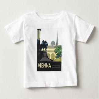 Vienna Austria - Vintage Travel Baby T-Shirt