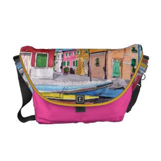 Vienna Burano Italy Courier Bag