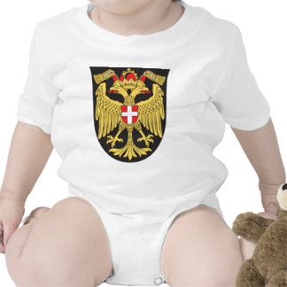 Vienna Coat Of Arms 19th Century Baby Creeper