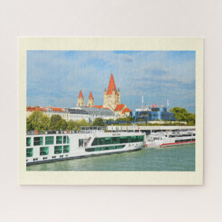 Vienna from the Danube Jigsaw Puzzle