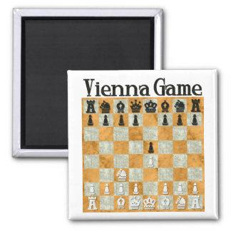 Vienna Game Refrigerator Magnet
