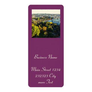 Vienna 4x9.25 Paper Invitation Card