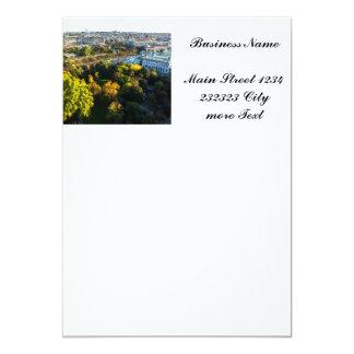 Vienna 5x7 Paper Invitation Card