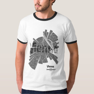 Vienna Map Ringer T-Shirt