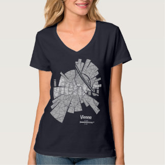 Vienna Map T-Shirt for Women