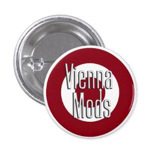 Vienna Mods Pinback Button