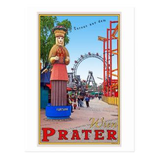 Vienna - Prater Park Postcard