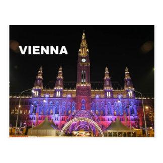 Vienna Rathaus Eistraum (St.K) Postcard