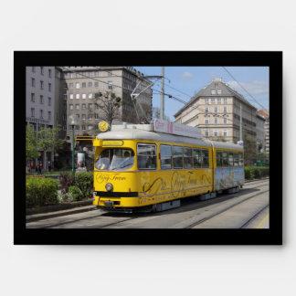 Vienna Ring Tram Envelope