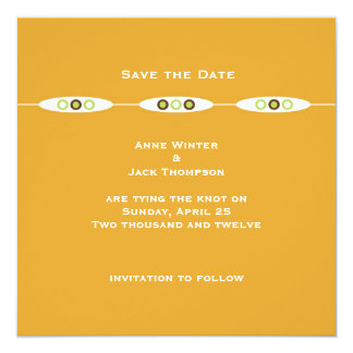 Vienna Save the Date: Sorbet Custom Announcements