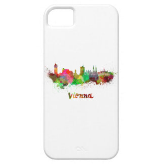 Vienna skyline in watercolor iPhone SE/5/5s case