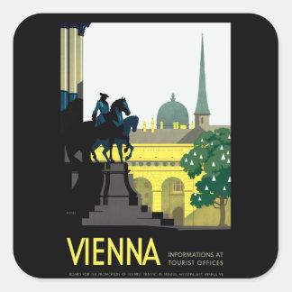 Vienna Square Sticker
