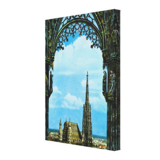 Vienna, St Stephen's cathedral Canvas Print