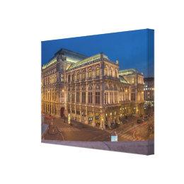 Vienna State Opera, Austria Canvas Print