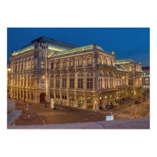 Vienna State Opera, Austria Large Business Card
