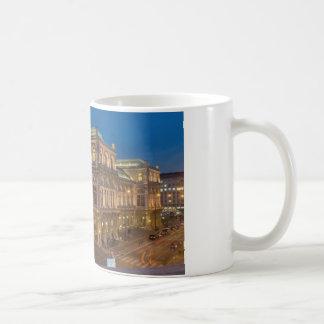 Vienna State Opera, Austria Classic White Coffee Mug