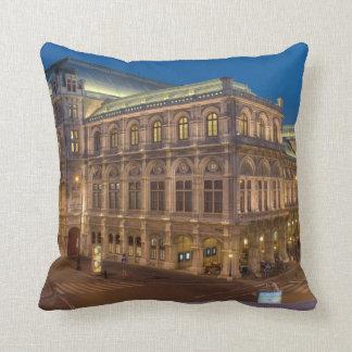 Vienna State Opera, Austria Throw Pillow