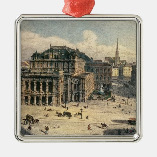 Vienna State Opera House, c.1869 Metal Ornament