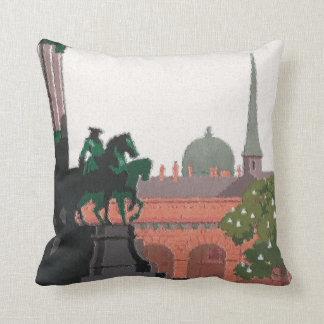 Vienna Statue Throw Pillow