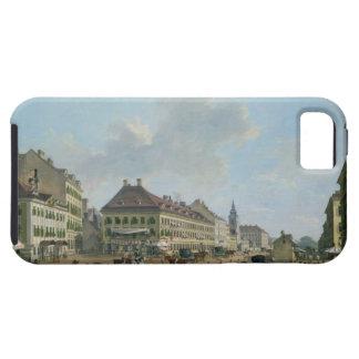Vienna, the promenade, 1824 (oil on canvas) iPhone SE/5/5s case