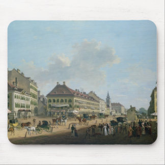 Vienna, the promenade, 1824 (oil on canvas) mouse pad