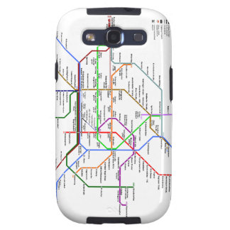 Vienna tube map Samsung Galaxy Galaxy SIII Cover