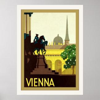 Vienna ~ Vintage Austrian Travel Posters