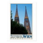 Vienna - Votivkirche Postcard