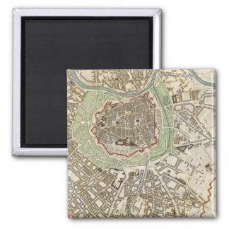 Vienna Wien 2 Inch Square Magnet