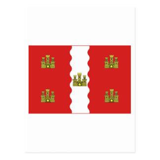 Vienne flag postcard
