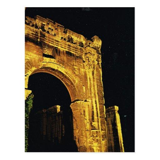 Vienne, Rhone, Gateway to Roman Forum Postcard
