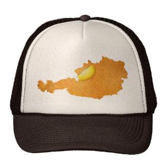 Viennese Schnitzel - Map Of Austria Trucker Hat