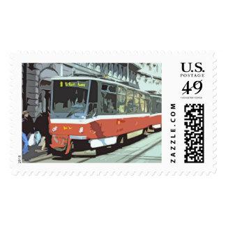 Viennese Strassenbahn Postage