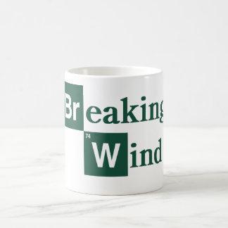Viento de fractura taza de café