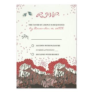 Viento del amor que casa la invitación refwi3 de invitación 12,7 x 17,8 cm