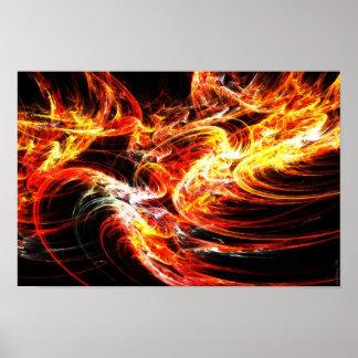 Viento del fuego poster