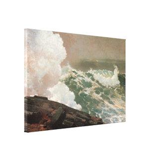 Viento del norte 1895 lienzo envuelto para galerias